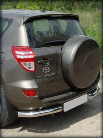 "Toyota Rav-4 2010-2012г.в.-Защита заднего бампера ""уголки"" d-76"